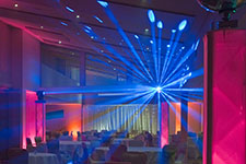 laser lighting weddings
